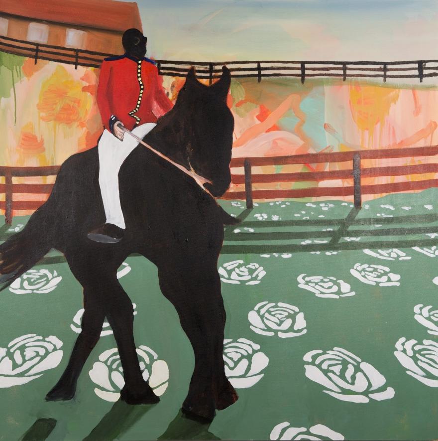 Benevolent Dictator Riding a Horse